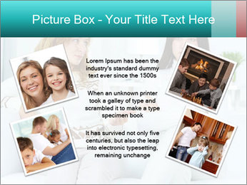Photo of pretty woman PowerPoint Template - Slide 24