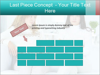 Photo of pretty woman PowerPoint Template - Slide 46