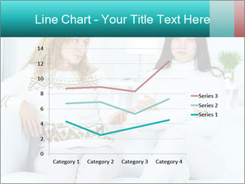 Photo of pretty woman PowerPoint Template - Slide 54
