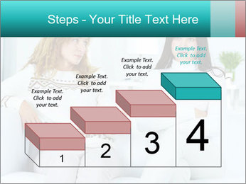 Photo of pretty woman PowerPoint Template - Slide 64