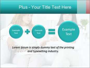 Photo of pretty woman PowerPoint Template - Slide 75