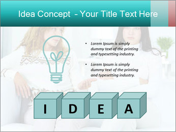 Photo of pretty woman PowerPoint Template - Slide 80