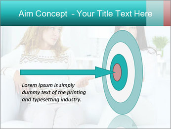 Photo of pretty woman PowerPoint Template - Slide 83
