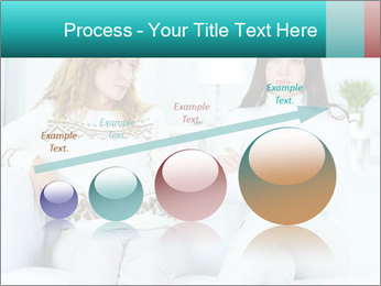 Photo of pretty woman PowerPoint Template - Slide 87