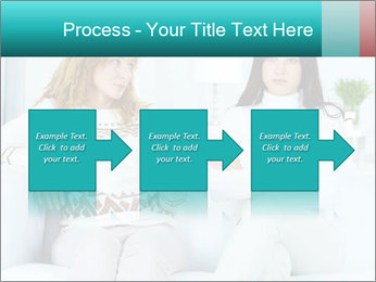 Photo of pretty woman PowerPoint Template - Slide 88