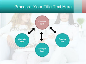 Photo of pretty woman PowerPoint Template - Slide 91