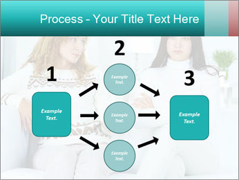 Photo of pretty woman PowerPoint Template - Slide 92