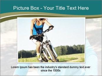 Senior woman PowerPoint Template - Slide 15