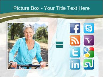 Senior woman PowerPoint Template - Slide 21