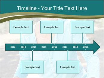 Senior woman PowerPoint Template - Slide 28