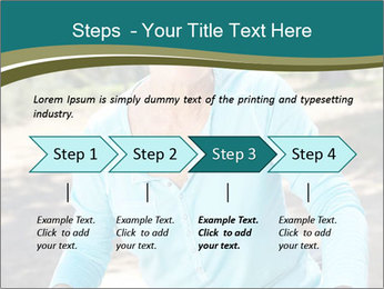 Senior woman PowerPoint Template - Slide 4