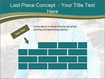 Senior woman PowerPoint Template - Slide 46