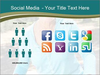 Senior woman PowerPoint Template - Slide 5
