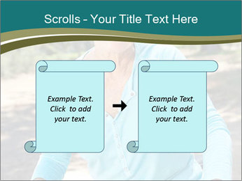 Senior woman PowerPoint Template - Slide 74