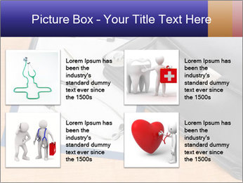 Phonendoscope PowerPoint Template - Slide 14