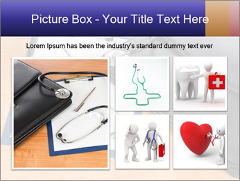 Phonendoscope PowerPoint Template - Slide 19