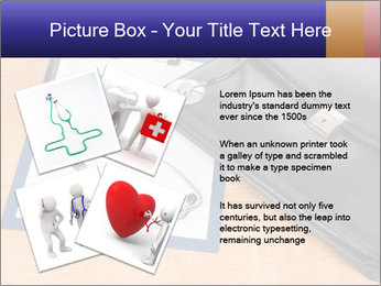 Phonendoscope PowerPoint Template - Slide 23
