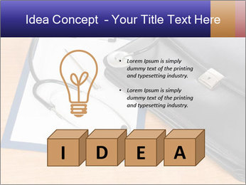 Phonendoscope PowerPoint Template - Slide 80