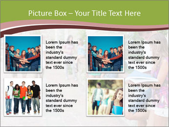 Multicultural Group PowerPoint Template - Slide 14