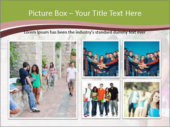 Multicultural Group PowerPoint Template - Slide 19