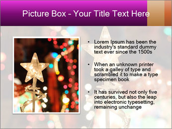 Christmas lights PowerPoint Templates - Slide 13