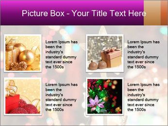 Christmas lights PowerPoint Templates - Slide 14