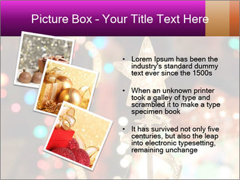 Christmas lights PowerPoint Templates - Slide 17