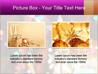 Christmas lights PowerPoint Templates - Slide 18