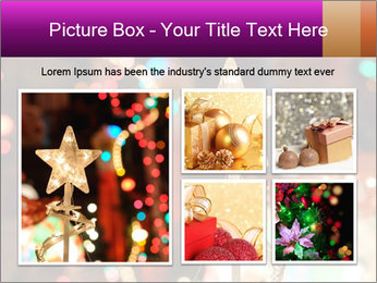 Christmas lights PowerPoint Templates - Slide 19