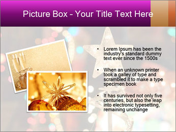 Christmas lights PowerPoint Templates - Slide 20