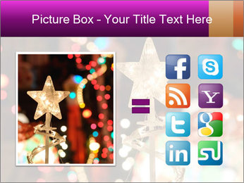 Christmas lights PowerPoint Templates - Slide 21