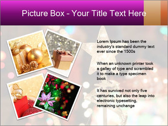 Christmas lights PowerPoint Templates - Slide 23