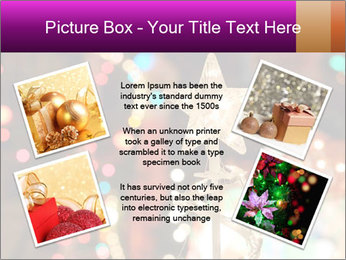 Christmas lights PowerPoint Templates - Slide 24
