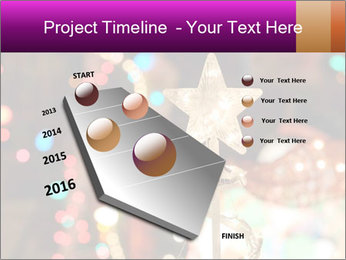 Christmas lights PowerPoint Templates - Slide 26