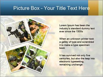Paintball sport player PowerPoint Template - Slide 23