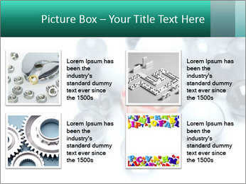 One bright marble standing PowerPoint Templates - Slide 14