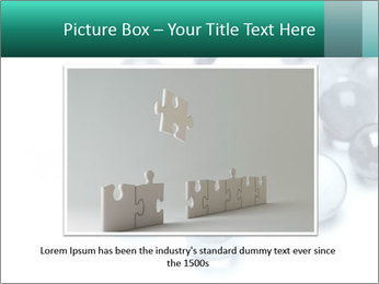 One bright marble standing PowerPoint Templates - Slide 15