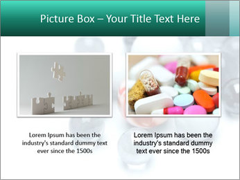 One bright marble standing PowerPoint Templates - Slide 18