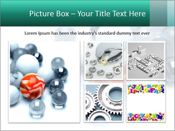 One bright marble standing PowerPoint Templates - Slide 19