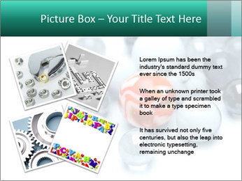 One bright marble standing PowerPoint Templates - Slide 23