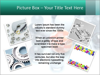 One bright marble standing PowerPoint Templates - Slide 24