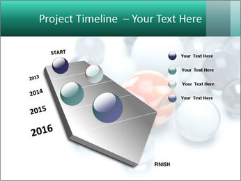 One bright marble standing PowerPoint Templates - Slide 26