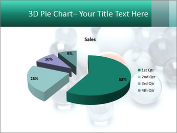 One bright marble standing PowerPoint Templates - Slide 35