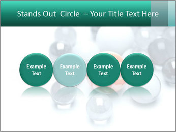 One bright marble standing PowerPoint Templates - Slide 76