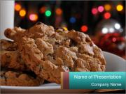 Chocolate chip cookies PowerPoint Templates