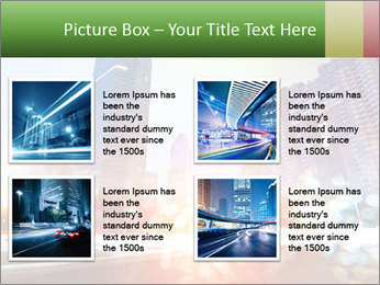 The light trails PowerPoint Template - Slide 14