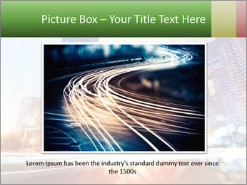 The light trails PowerPoint Template - Slide 15