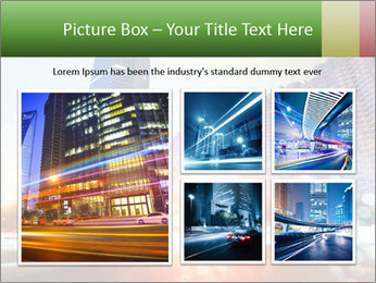 The light trails PowerPoint Template - Slide 19