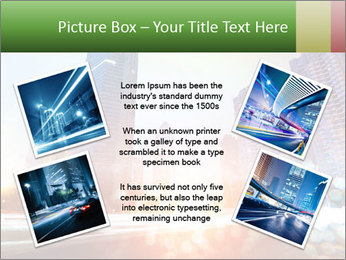 The light trails PowerPoint Template - Slide 24