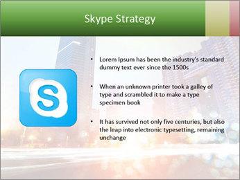 The light trails PowerPoint Template - Slide 8